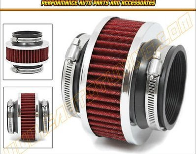 hpp-cold-air-intake-bypass-valve-filter-3-76mm-in-red-2010-1988-cadillac-allante-brougham-deville-el