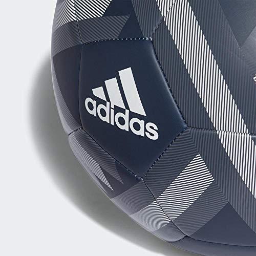 adidas Real Madrid Fbl Balón, Hombre, Gris (ónitéc/onifue) / Blanco, 5