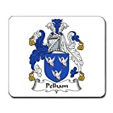 Pelham Family Crest Coat Of Arms Mouse Pad by myhe Rita gewear