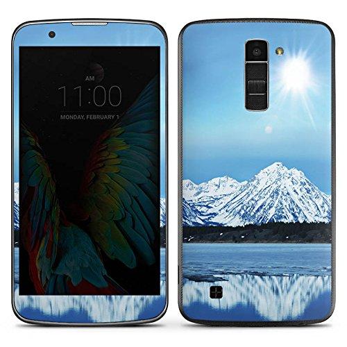 DeinDesign LG K10 LTE Case Skin Sticker aus Vinyl-Folie Aufkleber Gebirge Schnee Gipfel -