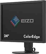Eizo CS2420 61 cm (24 Zoll) Grafik Monitor (DisplayPort, DVI-D, HDMI, Auflösung 1920 x 1200) schwarz
