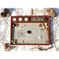 Giardino Zen Giapponese da Tavolo (Personalizzabile) in Stile Feng Shui ॐ Zensimongardens®