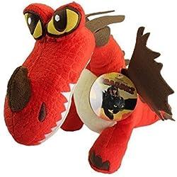 Es mucho más fácil entrenar a tu dragón de peluche con dientes Dr, ganchoconstellation 30 cm PELUCHE