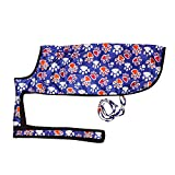 #6: The Pet point Nootie Winter Dog Coat With Paw Print Blue - 26