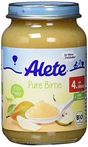 Alete Pure Birne, 6er Pack (6 x 190 g)