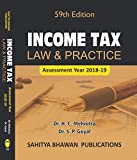 #9: Income Tax Law & Practice (59th Edition A.Y 2018-19) B.Com Semester VI & B.B.A Calicut University - Sahitya Bhawan Publications