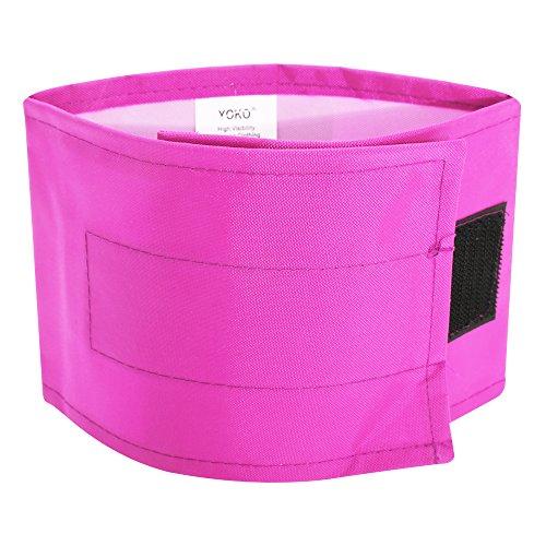 Yoko Hi Vis Armbinde, wasserfest (L-XL) (Pink) -