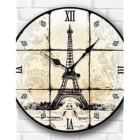 FEI&S indoor/outdoor Orologio da parete al quarzo universale Non-Ticking & Silent Orologio da parete #24
