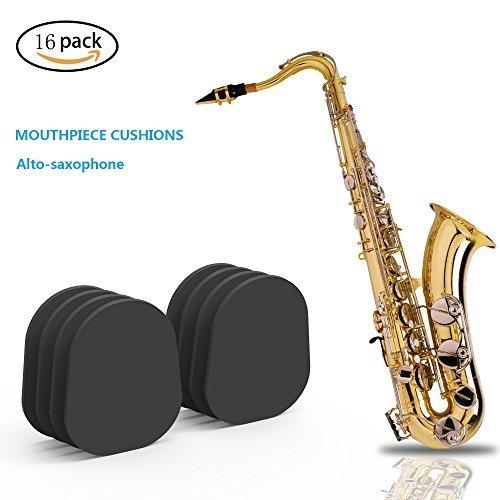 Mundstück Patches Pads Kissen, 16bakerri Alt Tenor Saxophon Klarinette Mundstück Patches Pads Cush