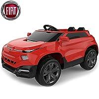 L'auto elettrica Fiat SUV Coupè FCC4 rosso 12V per bambini con il suo esclusivo design, farà senza dubbio innamorare i più piccoli ma non solo! Dotata di 2 posti comodissimi con interni in pelle per assicurare il divertimento dei bambini anche in com...