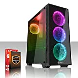 Fierce MEDUSA RGB Gaming PC Desktop Computer - Fast 4GHz Quad Core Intel Core i7 4790 - 1TB Hard Drive - 16GB of 1600MHz DDR3 RAM / Memory - NVIDIA GeForce GTX 1050 Ti 4GB - HDMI, USB3, Wi-Fi - Perfect for competitive gaming - Windows Trial included - 3 Year Warranty - (492675)