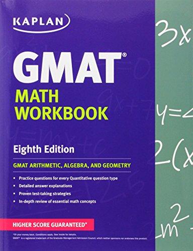 Kaplan GMAT Math Workbook Paperback