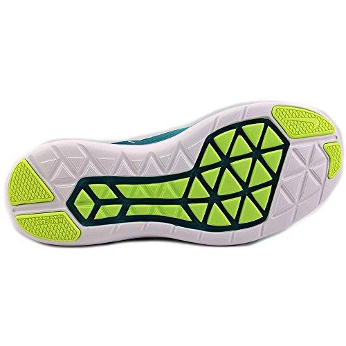 Nike Flex 2016 RN Hommes Synthétique Chaussure de Course Hyper Turq-White-Rio Teal-Volt