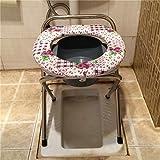 Anna Duschsitz Duschstuhl Toilettenstuhl Senioren Portable Schwangere Frauen Spülung Bad Toilette Stuhl Sitz WC Sitzplatz Badestuhl