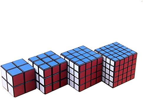 4 dépoli Sticker MAGIC CUBE de 2 x 2,3 x 3,4 x 4,5 x 5 Mat Sticker réglable Rubik's Cube | Authentique