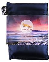 Silkrafox - ultraleichter Schlafsack, Hüttenschlafsack, Inlett , Sommerschlafsack, Kunst- Seidenschlafsack