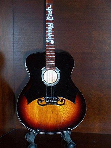 Mini Akustisch Gitarre JOHNNY CASH Anzeige GESCHENK