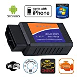 Gadgetguru Elm327 Wifi Obd Obd Ii Wireless Auto Diagnostic Scanner Tool For Android