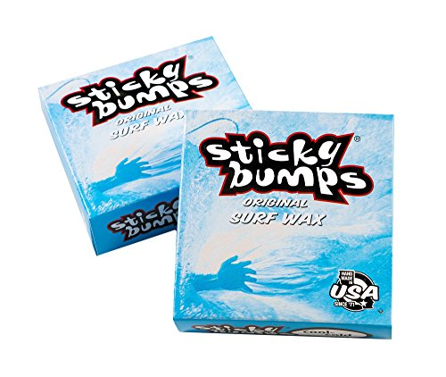 Sticky Bumps Unisex Original Surf Wax Cool Cold White