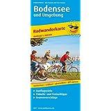 Bodensee und Umgebung: Radwanderkarte mit Ausflugszielen, Einkehr- & Freizeittipps, wetterfest, reissfest, abwischbar, GPS-genau. 1:100000