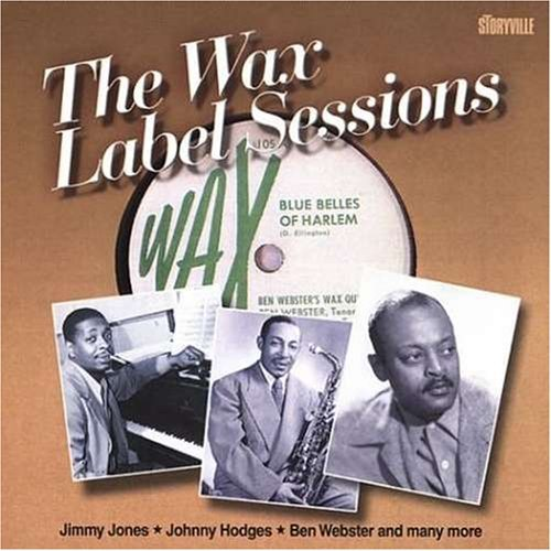 Wax label sessions by Various (2002-08-06)