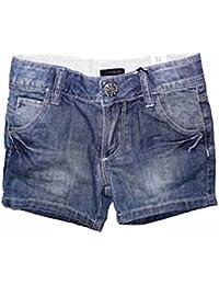 Ikks- Short en jean bleu