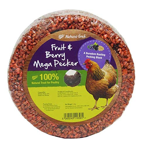 Natures Grub Mega Pecker (1,2kg) (Früchte & Beeren)