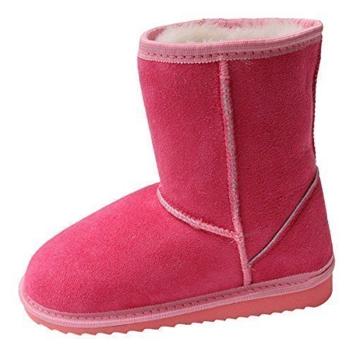 Lammfell Kinder-Boots - Pink Schuhgröße EUR 34