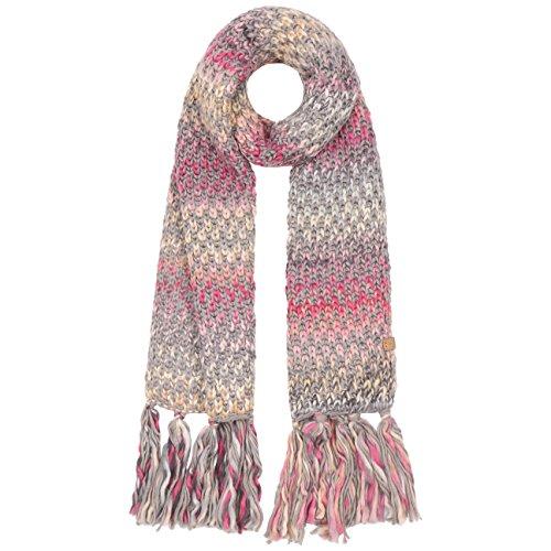 Nicole Sciarpa Barts sciarpa a maglia sciarpa rigata sciarpa invernale, Antracite, taglia unica