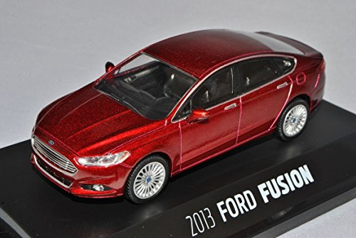 ford-mondeo-limousine-rot-fusion-mk5-ab-2013-1-43-greenlight-modell-auto-mit-individiuellem-wunschke