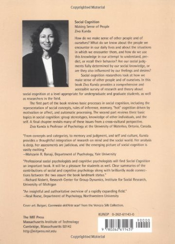 Social Cognition: Making Sense of People (Bradford Book)