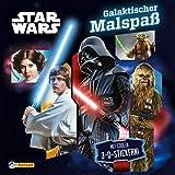 Star Wars: Galaktischer Malspaß: Mit coolen 3-D-Stickern