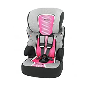 Car seat Highback Booster with Harness - Group 1/2/3 (9-36kg) - Made in France - 3 Stars Test ADAC-Approved ECE R44/04.   11