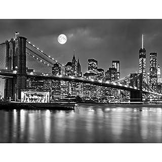 Fototapeten New York 352 x 250 cm Vlies Wand Tapete Wohnzimmer Schlafzimmer Büro Flur Dekoration Wandbilder XXL Moderne Wanddeko 100% MADE IN GERMANY -Stadt City NY Runa Tapeten 9101011b