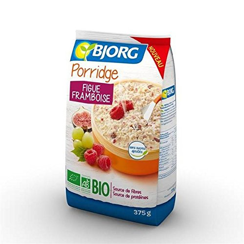 Bjorg porridge figue framboise 375g - ( Prix Unitaire ) - Envoi Rapide Et Soignée