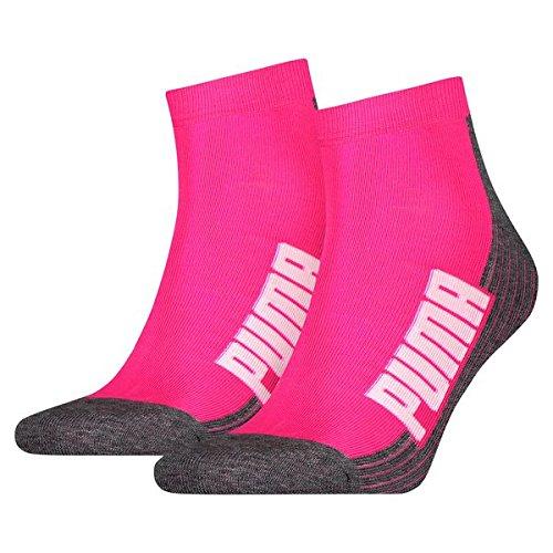 P Women Socken, Pink, 35-38 (Rosa Footies)