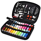 Sewing Kit Aojia DIY Premium Sewing Supplies Household Portable Needlework Box Sewing Accessories Tools Bag Perfect for Home, Travel & Emergencies Use Beginners Sewing Kit