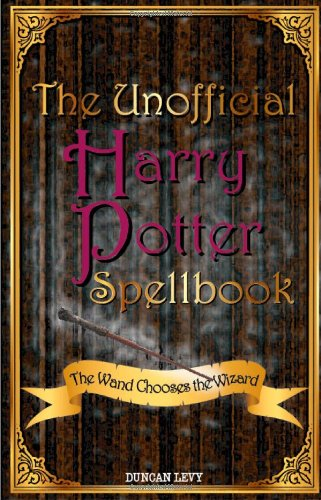 The Unofficial Harry Potter Spellbook Cover Image
