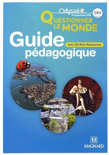 Questionner le monde CE2 : Guide pdagogique (1Cdrom)