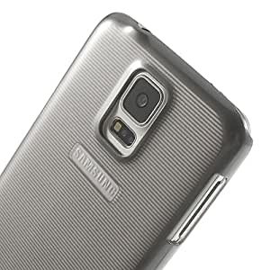 tripe Surface Hard Back Case Cover for Samsung Galaxy S5- Grey