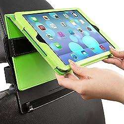 Die perfekte Ergänzung zum Snuggcase Die Snugg iPad KFZ-Halterung ist für das Snugg iPad Case geeignet. Mit der iPad KFZ-Halterung für die Kopfstütze Ihres Autositzes können Mitreisende bequem Filme, Fotos und mehr anschauen, ohne das iPad in den Hän...