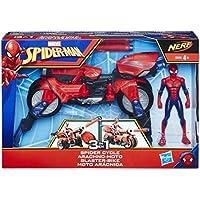 Marvel Spiderman Moto Arácnida 3 en 1 (Hasbro E0593EU4)