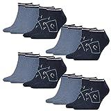 Tommy Hilfiger Herren Sneaker American Heritage 8er Pack, Größe:39-42, Farbe:Jeans (356)