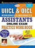 UIICL  & OICL Assistants Online exam Practice Work Books -English - 1410