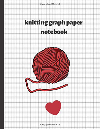 knitting graph paper notebook: 120 pages Knitting Paper 4:5 Custom Knitting Designs Notebook