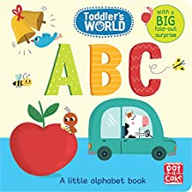 ABC: A little alphabet board book with a fold-out surprise (Toddler's World)
