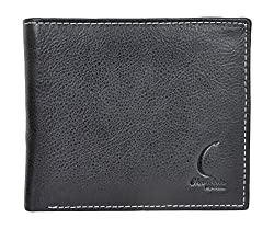 Chandair Pure Leather Knight Black Mens Wallet (KL-CH-14)