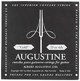 Augustine Corde per Chitarra Classica, Singole Re4, Oro (Gold Label)