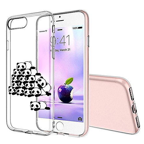 Pacyer® iPhone 6/6s Custodia Panda TPU case Gel Protettivo Skin Shell Case Cover Per Apple iPhone 6 6s (4,7) 1