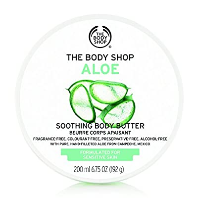 Aloe Body Butter 200ml for ALL SKIN TYPES by The Body Shop
